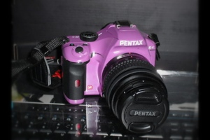 My First DSLR - a Purple Pentax K-x