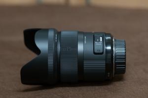 Sigma 35mm f1.4 side